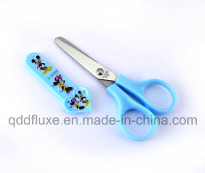 Stationery Paper Cutting Children School Scissors with Cap pictures & photos