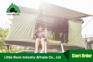 2017 4WD Hard Shell Roof Top Tent Camping Tent for Outside pictures & photos