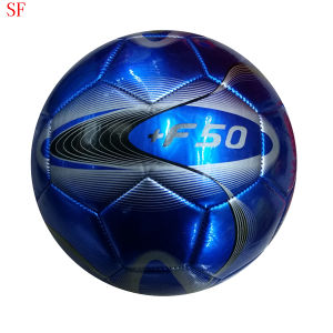 Custom PU Prining Size 5 Promotion Football PVC Soccer Ball pictures & photos