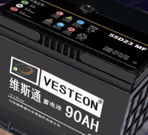 12V Automotive Start Car Battery with ISO, CE, Soncap, CQC N80 DIN66 pictures & photos