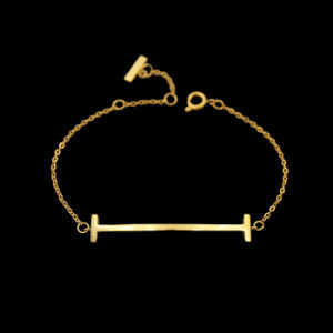 Popular Women Jewelry Gold Plated Fashion Letters Charm Bracelet pictures & photos