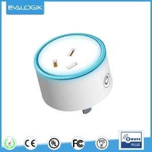 Z-Wave Plus Blue Energy Smart Plug for Home Automation pictures & photos