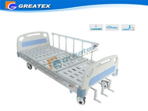 3-Crank Manual Hospital Manual Bed pictures & photos