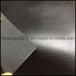 D/P Coating PU Material Leather for Shoes 1.2mm 1760m pictures & photos