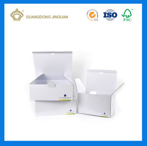 China Factory White Corrugated Mailing Box (with Custom Logo Printing) pictures & photos