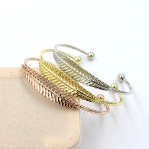 New Arrival Cute Girls Luxury Leaves Charm Bracelet Jewelry
