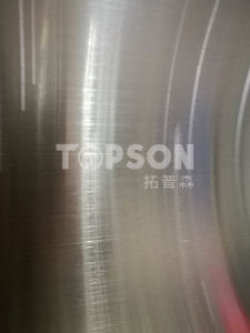 Stainless Steel Sheet Hairline Decorative Color for MID East Market Project