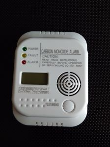 Carbon Monoxide Alarm Battery Operated pictures & photos