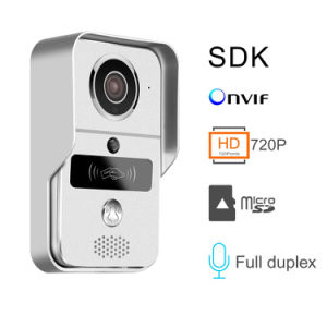 Factory Rain-Proof Cover Unlock Function Night Vision WiFi Wireless Doorbell