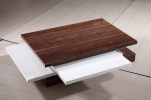 Wooden Coffee Table Hotel Furniture (CJ-M055F) pictures & photos
