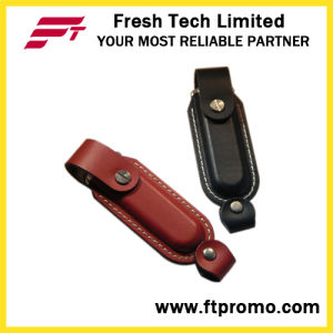 Classic Promotional Leather USB Flash Drive (D503) pictures & photos