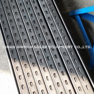 Roll Forming Machine Solar Bracket Punching Holes Roll Forming Machine Production Line pictures & photos