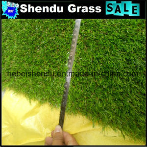 20mm 140stitch Landscape Artificial Grass with Green Color pictures & photos