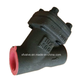 800lb Forged Steel A105 Thread End NPT Y Type Strainer
