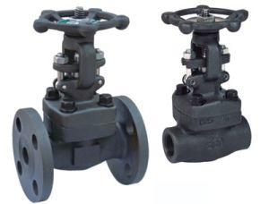 . Y-Type Forged Steel Gate Valve with Handwheel pictures & photos