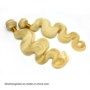 "Bliss Malaysian 613# Body Wave Hair 12""-24"" Double Weft Unprocessed 100 Virgin Malaysian Human Remy Hair pictures & photos"