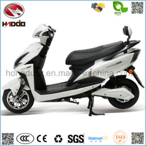 2 Wheel Electric Scooter 2 Seats Lead Battery Motorcycle pictures & photos