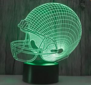 Custom LED 3D Illusion Night Light pictures & photos