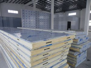 200mm Thickness Polyurethane Sandwich Panel for Blast Deep Freezer pictures & photos