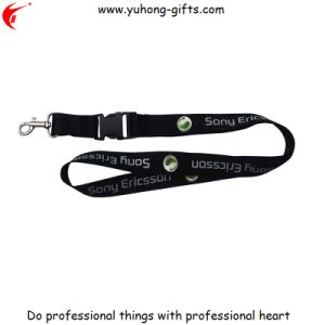 Custom Printed Polyester Sublimation Neck Lanyard with Logo (YH-L1245) pictures & photos