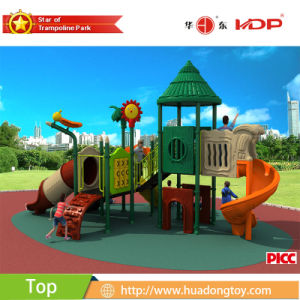 2017 New Product Outdoor Playground Plastic House Wood Series pictures & photos