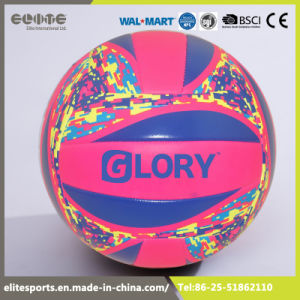 China Supplier Custom Printed Rubber Waterproof PVC Volleyball