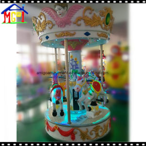 White Crown Merry Go Round (3 players) Carousel pictures & photos