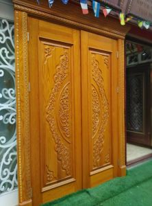 Exterior Door, Solid Wood Door pictures & photos