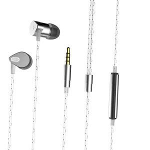 Newest Sports Running Headphones HiFi Stereo Wired Earphones with Mic Handsfree MP3, Music Earphones