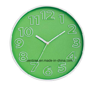 Various Colors Promotional Simple Wholesale Wall Clock pictures & photos