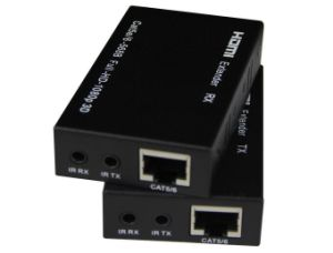 HDMI Extender 60m Over CAT6 with IR Control & IR Cable pictures & photos