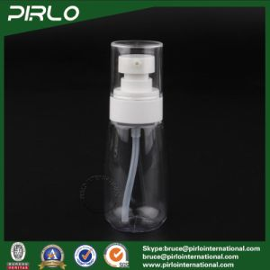 60ml 2oz Clear Plastic Pump Spray Bottle Cosmetic Packing Essence Oil Spray Bottle pictures & photos