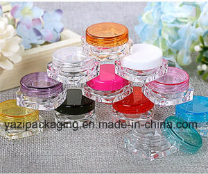 3G Square Cosmetic Jar pictures & photos