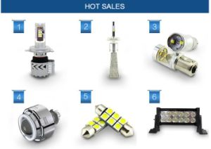 High Intensity Ce RoHS Certified LED Car Headlight pictures & photos