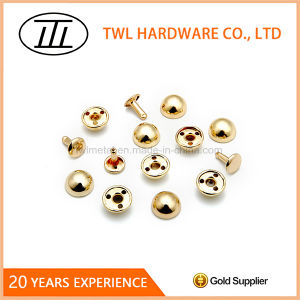 12mm Mushroom Iron Rivet for Bag pictures & photos