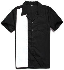 Men UK Design Button up Rockabilly 50s Vintage Bowling Shirts pictures & photos