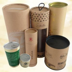 Food Packaging Tin Can/Paper Canister for Food Packaging pictures & photos