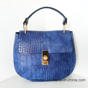 Promotional Fashion Designer Women Crocodile PU Handbags (NMDK-042904)