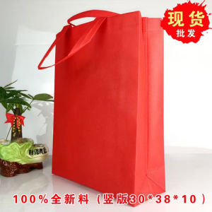 China Cheap Recycle Handbag Laminated Non Woven Shopping Bag pictures & photos