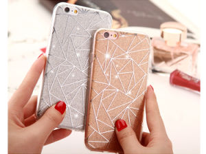 TPU Laser Holograpic 3D Rainbow Phone Case for iPhone 6 Plus 6p pictures & photos