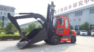 Niuli 3t Diesel Forklift Truck with Ce pictures & photos