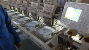 Hye-T1206/400*450 Cap/Tube Embroidery Machine pictures & photos