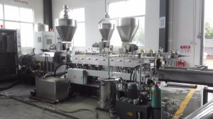Plastic Nylon Making Machine of Twin Screw Extruder in Plastic Machine pictures & photos