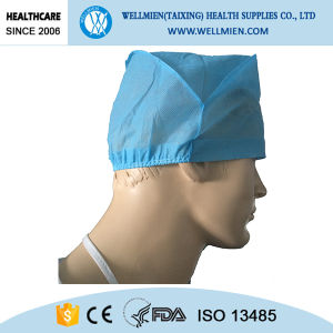 Disposable Surgery Cap with Elastic Back pictures & photos