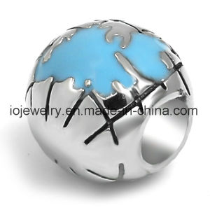 Travelling Memorial Jewelry 316 Stainless Steel Globe Bead pictures & photos