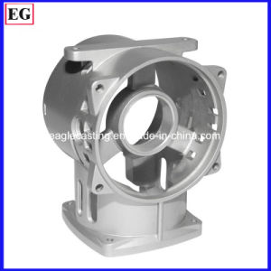 Precision CNC Machining Aluminum Die Casting Compressor Support Parts pictures & photos
