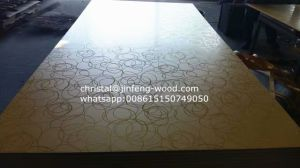 1220*2440mm Double Sides Melamine MDF pictures & photos