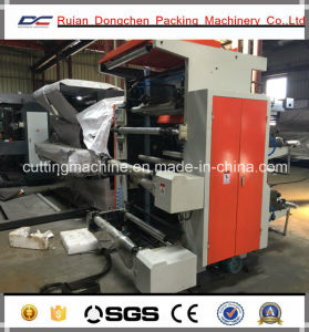 Flexographic Printing Machine for Plastic Bag Printing Machine
