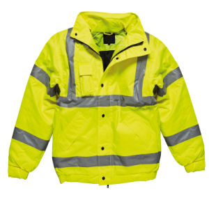 waterproof Yellow High Visibility Reflective Safety Jacket pictures & photos