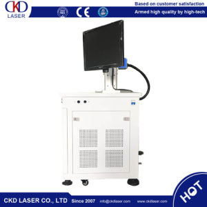 Ce 50W Fiber Laser Marking Machine for Metal Deep Mark pictures & photos